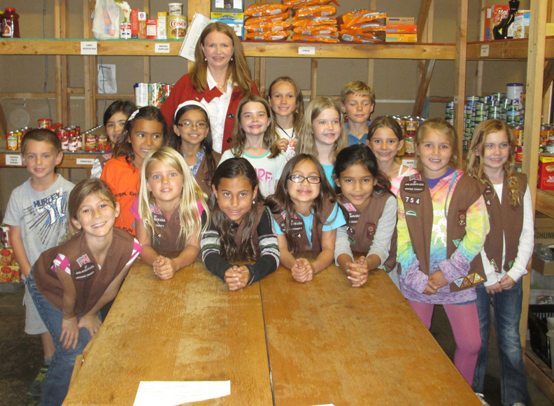 brownies visit wecare