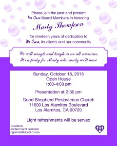 Marty's Retirement Invite
